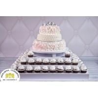 Tort Ślubny 19 + Muffinki