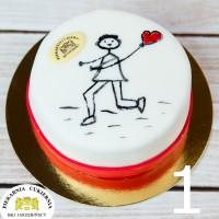 Tort Walentynki / Dzień Kobiet 1