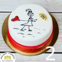 Tort Walentynki / Dzień Kobiet 2