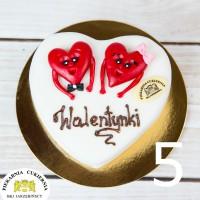 Tort Walentynki 5