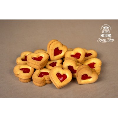 Ciasteczka Ogniste Serca opak/1 kg