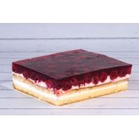 Ciasto Malinowe z galaretką 0.8 kg