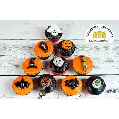 Cupcake Halloween 6 szt