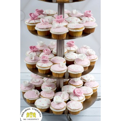 Cupcake weselne 6 szt