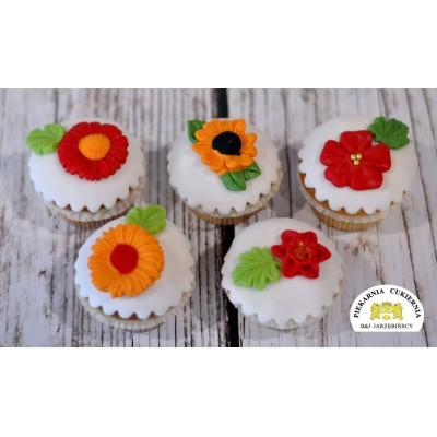 Cupcake z Kwiatkami 6 szt