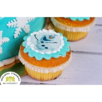 Mini opłatek bezglutenowy na cupcake 12 sztuk