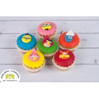Cupcake Bajkowe 6 szt