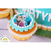Mini opłatek na cupcake 12 sztuk