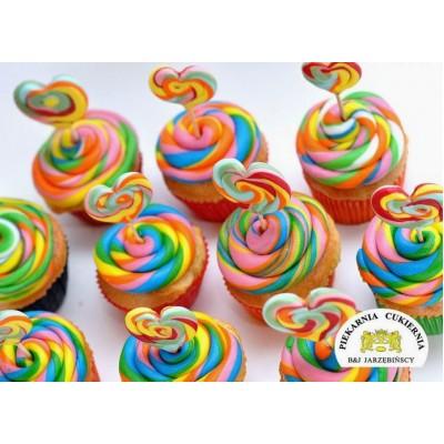 Cupcake Zakręcone 6 szt