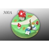Tort nr 300A Smerfy