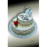 Tort weselny nr 109
