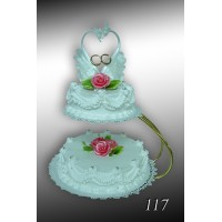 Tort weselny nr 117