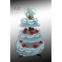 Tort weselny nr 118