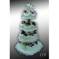 Tort weselny nr 119