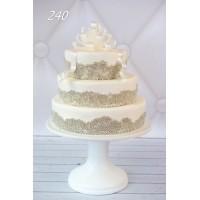 Tort ślubny 240
