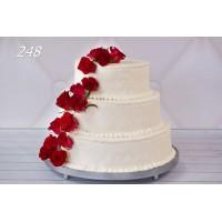 Tort ślubny 248